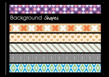 Designer 3 Hintergründe in vielen Farbvarianten direkt verfügbar