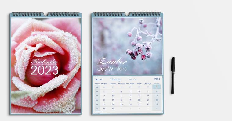 Fotokalender gestalten DIN A4 hoch