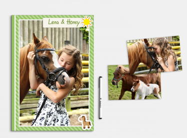 Fotobuch erstellen mit Softcover DIN A4 hoch