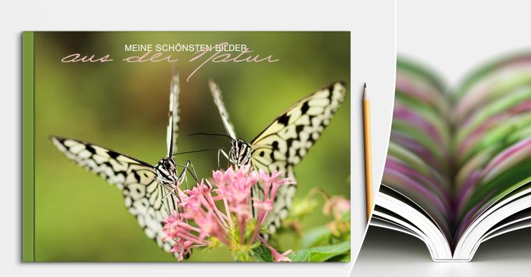 Fotobuch erstellen mit Softcover DIN A5 quer