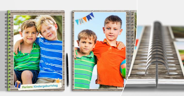 Fotobuch erstellen mit Ringbindung DIN A4 quer