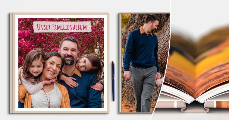 Fotobücher erstellen mit Hardcover