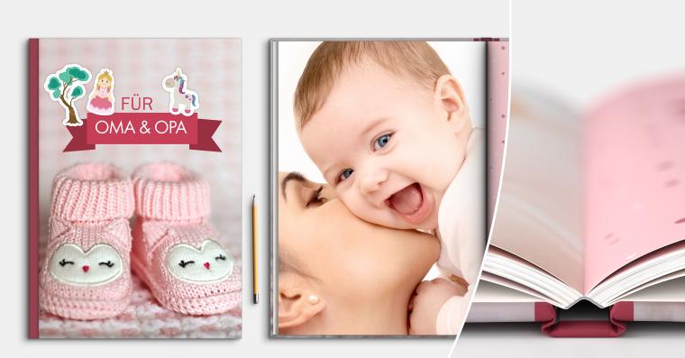 Fotobuch erstellen DIN A4 hoch mit ULTRA HD Druck