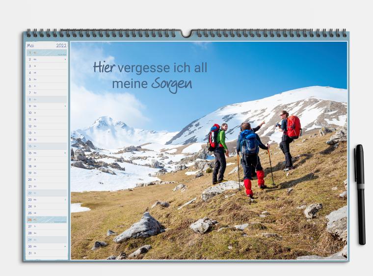Kostenlose Kalender Vorlage Scribble