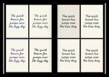 Kostenlose Schriften in Designer 3