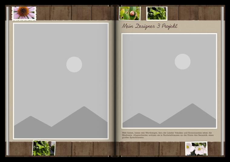 Fotobuch erstellen mit Vorlagen und Designer 3