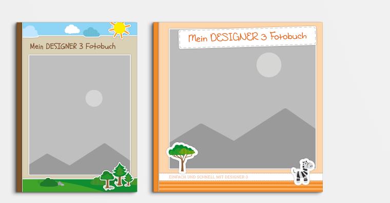 Fotobuch erstellen mit Vorlagen für Designer 3