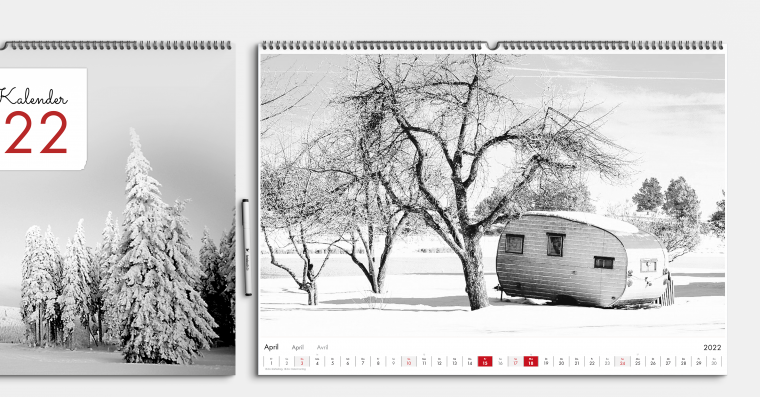 Fotokalender gestalten DIN A2 quer