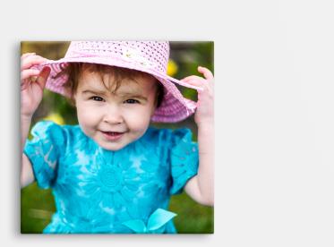 Foto auf Leinwand im quadratischen Format 40x40 cm selbst gestalten.