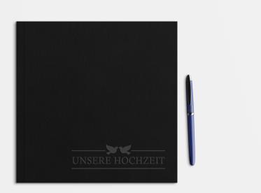 Fotobuch erstellen mit Prägung 21x21 cm