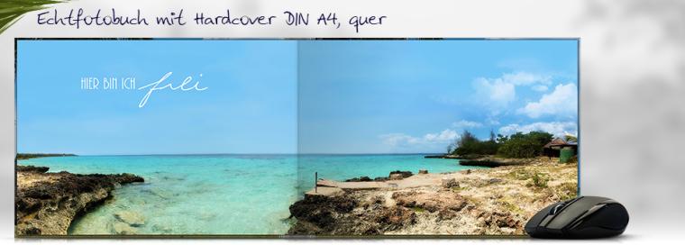 Echtfotobuch erstellen DIN A4 quer