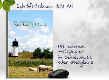 Echtfotobuch erstellen DIN A4 hoch