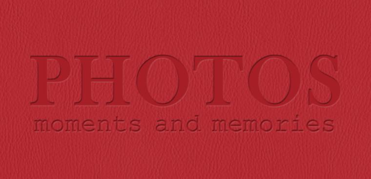 Echtfotobuch erstellen mit Prägemotiv Fotos