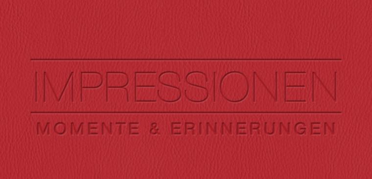 Echtfotobuch erstellen mit Prägemotiv Impressionen