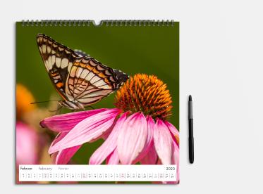 Fotokalender gestalten 30x30 cm quadratisch