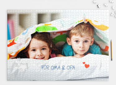Puzzle mit eigenem Foto 1.000 Teile