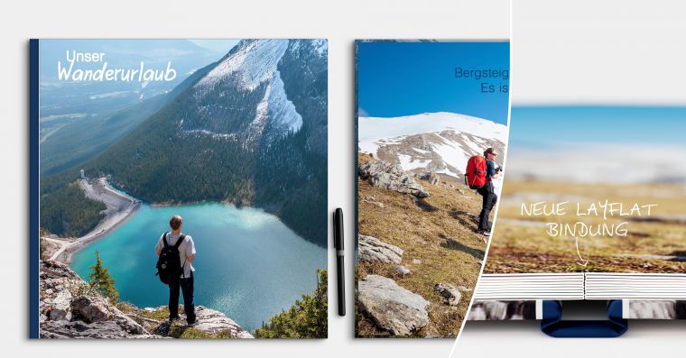 LayFlat Fotobuch erstellen 30x30 cm