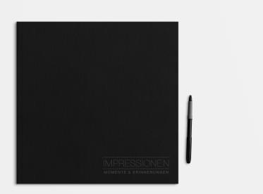 LayFlat Fotobuch erstellen mit Prägung 30x30 cm quadratisch
