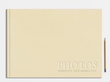 LayFlat Fotobuch erstellen mit Prägung DIN A4 quer