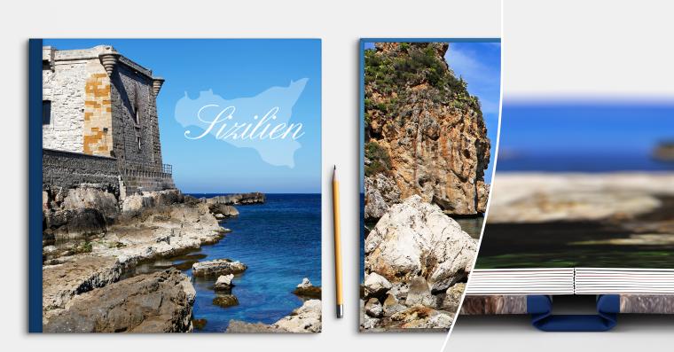 LayFlat Fotobuch erstellen 21x21 cm quadratisch